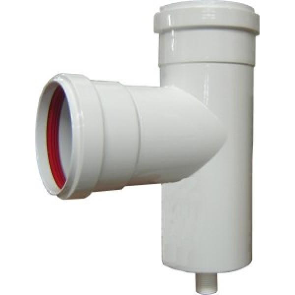 Raccordo a t alluminio verniciato bianco spessore 1 mm for Raccordo casa verticale