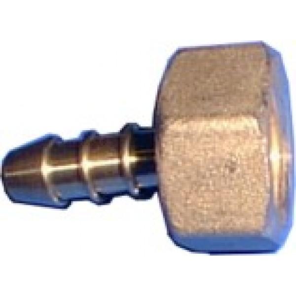 Raccordo ottone con dado per bombola gas from category for Raccordo casa verticale