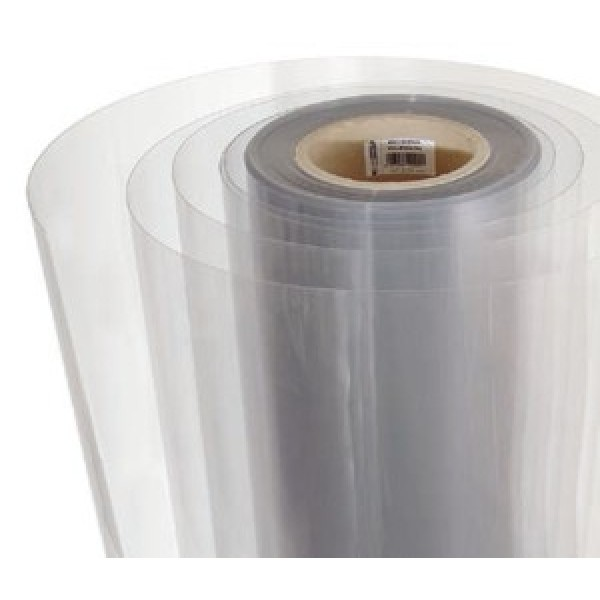 Film PVC trasparente in rotolomis. H. 100cm - Lungh. 50 ml. - Spess 0.75 mm - from category Reti ...