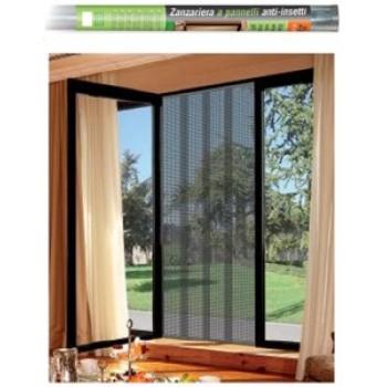 Tenda zanzariera a pannelli mt la xh per porta - Zanzariera finestra prezzo ...