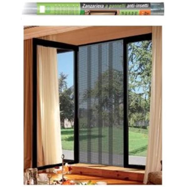 tenda porta finestra : ... ? Tenda Zanzariera a Pannelli 1.2x2.4 mt (La.xH) per Porta/Finestra