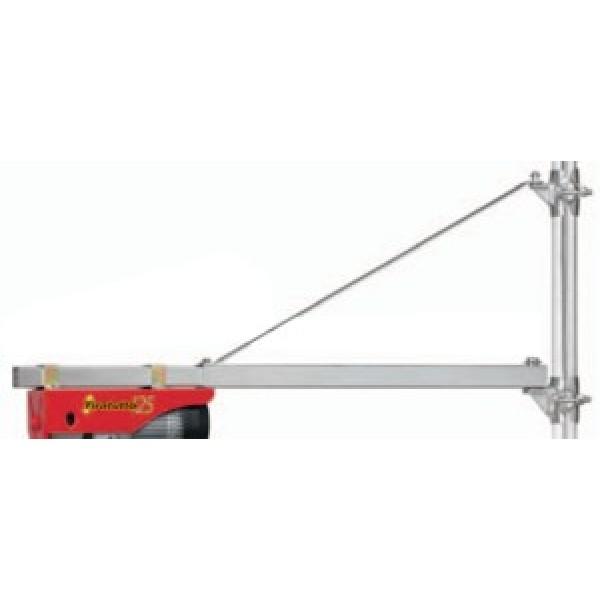 Braccio per paranco elettrico estensibile 75 110 from for Braccio per paranco elettrico