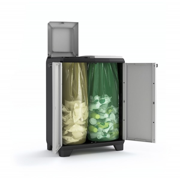 Armadio Raccolta differenziata Split Recycling Premium 68 x 39 x ...