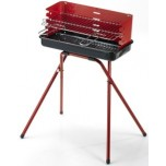 Barbecue a carbone 47x24x72cm Ompagrill