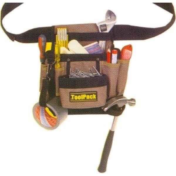 Borsa carpentiere Toolpack con cintura a scatto - from category Borse da lavoro (GardenCity Shop ...